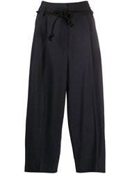 Odeeh Paperbag Cropped Trousers 60