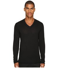 Atm Anthony Thomas Melillo Cashmere V Neck Sweater Black