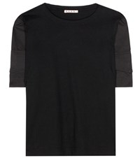 Marni Cotton T Shirt Black