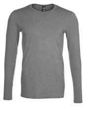Calida Evolution Pyjama Top Dust Mel Grey