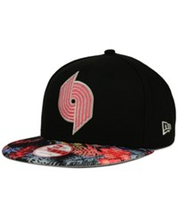 New Era Portland Trail Blazers Fall Floral 9Fifty Snapback Cap