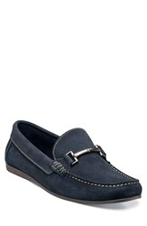 Men's Florsheim 'Jasper' Bit Loafer Navy Suede