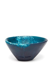 Dinosaur Designs Flow Ice Cream Bowl Blue