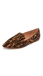 Madewell Lou Loafers Leopard