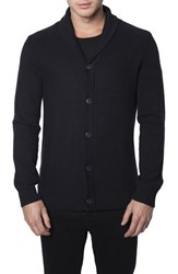 Men's 7 Diamonds 'Noma' Button Cardigan Black