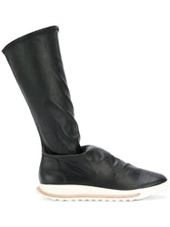 Rick Owens Hood Off The Runway Dirt Grafton Sock Shoes Black