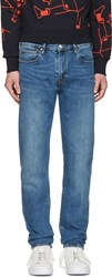 Paul Smith Ps By Blue Tapered Jeans