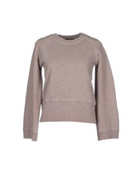 Annarita N. Sweatshirts Dove Grey