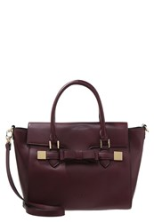 Lydc London Tote Bag Uni Wine Bordeaux