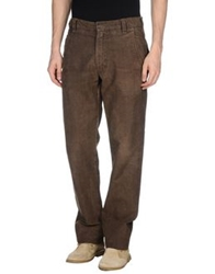 Perfection Casual Pants Dark Brown