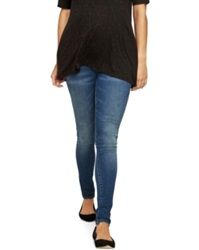 A Pea In The Pod Luxe Essentials Maternity Skinny Jeans Medium Wash