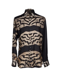 Roberto Cavalli Shirts Steel Grey