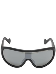 Moncler Shield Mirrored Sunglasses Black
