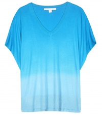 Diane Von Furstenberg Honey Silk And Cashmere Blend Sweater Blue