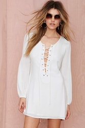Nasty Gal After Party Vintage Tie The Knot Dress
