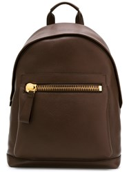 Tom Ford Buckley Backpack Brown