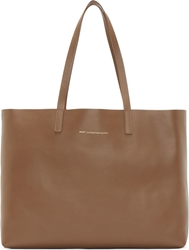 Want Les Essentiels Brown And Gold Reversible Strauss Tote