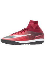 Nike Performance Mercurialx Proximo Ii Tf Astro Turf Trainers Team Red Black Racer Pink White