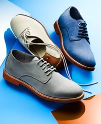 Tommy Hilfiger Men's Seaside Perforated Oxfords Men's Shoes Seashell
