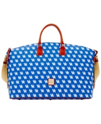 Dooney And Bourke Kentucky Wildcats Weekender Blue