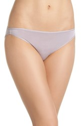 Felina 'Sublime' High Cut Briefs Gull Grey