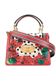 Dolce And Gabbana Welcome Shoulder Bag Red