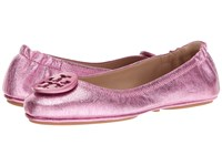Tory Burch Minnie Travel Ballet Bougainville Pink Women's Shoes