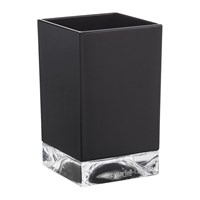 Kartell Square Toothbrush Holder Matt Black