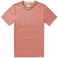 Norse Projects Esben Blind Stitch Tee Pink