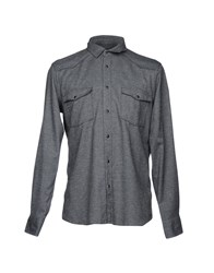 M.Grifoni Denim Shirts Grey