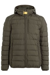 Parajumpers Quilted Down Jacket With Hood Gr. M