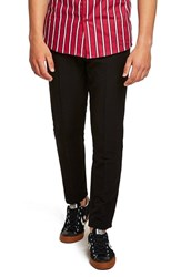 Topman Muscle Fit Trousers Black