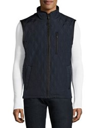 Rainforest Huntsville Waxe Sleeveless Jacket Navy