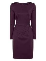 Hotsquash The Fitzrovia Ponte Dress Violet