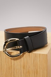 A.P.C. Leather Claudia Belt Noir