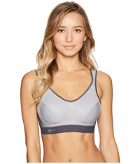 Anita Extreme Control Soft Cup Sports Bra Heather Grey Women's Bra Gray