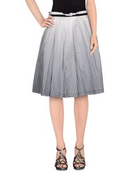 Boy By Band Of Outsiders Skirts Knee Length Skirts Women Grey