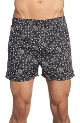 Men's The Rail 'Bandana' Print Woven Cotton Boxers 3 For 25
