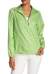 Peter Millar Solid Packable Windbreaker Green