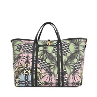 Pierre Hardy Lily Cubes Coated Canvas Tote
