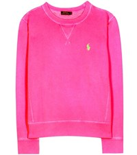 Polo Ralph Lauren Cotton Blend Sweatshirt Pink