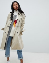 Tommy Hilfiger Trench Coat Classic Camel Beige