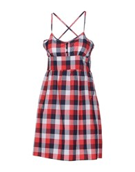 Duck Farm Dresses Short Dresses Women Red
