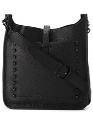 Rebecca Minkoff Studded Messenger Bag Black