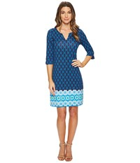 Hatley Lucy Dress Blue Valentia