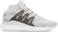 Adidas Originals Grey Tubular Nova Pk High Top Sneakers