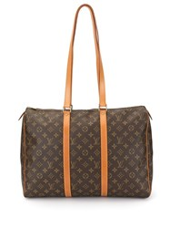 Louis Vuitton Vintage Sac Flanerie 45 Travel Bag Brown