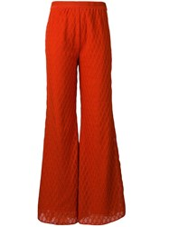 M Missoni Clay Flared Trousers