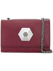 Philipp Plein Mini Shoulder Bag Red