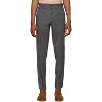Paul Smith Ps By Grey Mid Fit Trousers